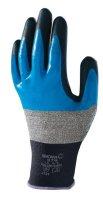 SHOWA 376R BLUE SIZE XL (1 PAIR) (1PC)