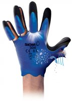 SHOWA GLOVES 306 BLUE M (1 PAIR) (1PC)