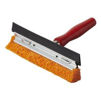 SQUEEGEE 14CM + WOODEN H&LE (1PC)
