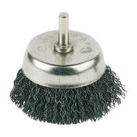 STEEL BRUSH ON STICK 6MM WITH CORRUGATED WIRE 75MM (1)