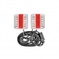 TRAILER LIGHT SET LED + MAGNETS 7.5 + 2.5M CABLE (1PC)