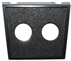 TWO HOLE PANEL (1PC)