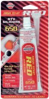 VERSACHEM RED SILICONE TYPE 650 BLISTER 85 GRAM (1ST)