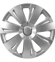 WHEEL CAP SET ENERGY RC SILVER 13 (1PC)