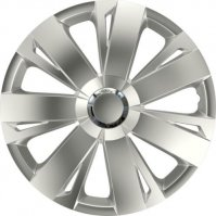 WHEEL CAP SET ENERGY RC SILVER 15 (1PC)