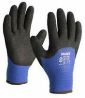 WINTER GLOVE LINED BLUE BLACK NITRIL COATING MT9 (1 PAIR) (1PC)