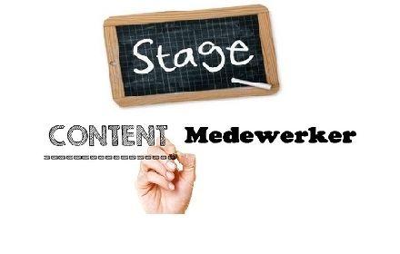 Stagiair(e) content medewerker